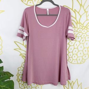 LuLaRoe | Pink Mauve Perfect T Tunic!